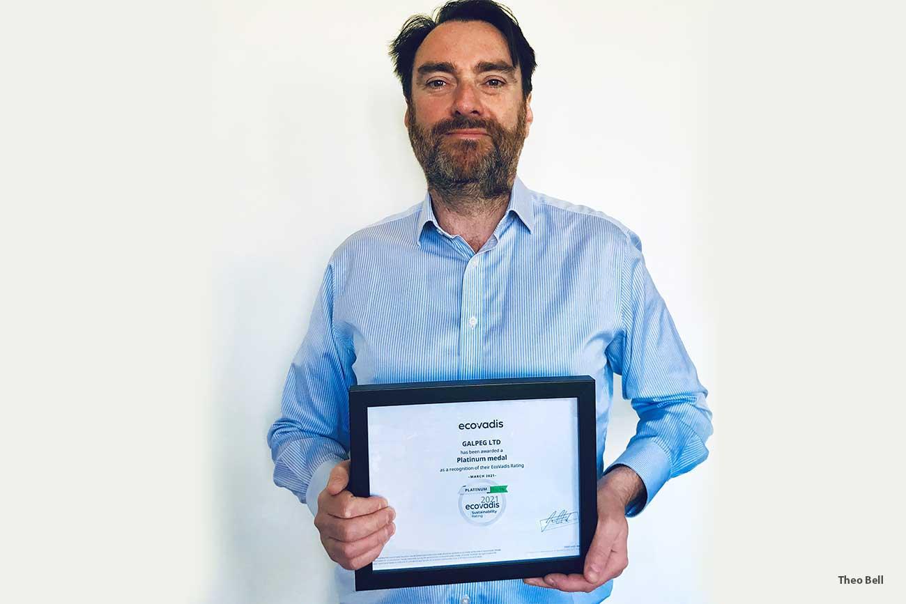 Platinum Eco Vadis award